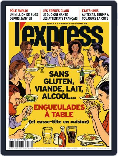 L'express November 7th, 2018 Digital Back Issue Cover
