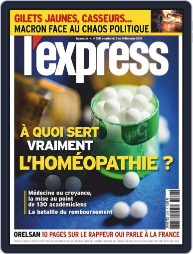 L'express December 5th, 2018 Digital Back Issue Cover