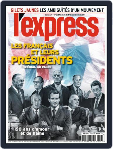 L'express (Digital) December 19th, 2018 Issue Cover