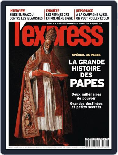 L'express December 26th, 2018 Digital Back Issue Cover