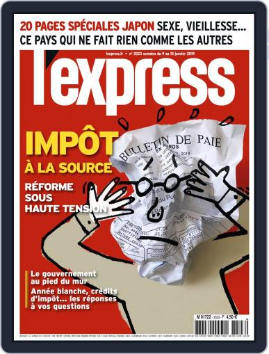 L'express January 9th, 2019 Digital Back Issue Cover