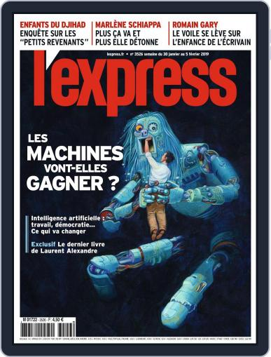 L'express January 30th, 2019 Digital Back Issue Cover
