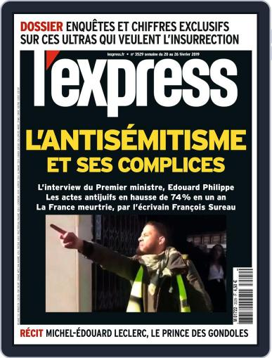 L'express February 20th, 2019 Digital Back Issue Cover
