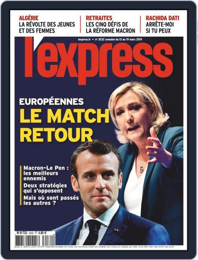 L'express (Digital) March 13th, 2019 Issue Cover
