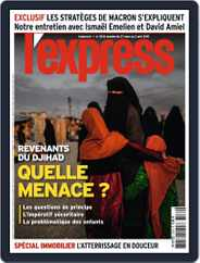 L'express (Digital) Subscription March 27th, 2019 Issue