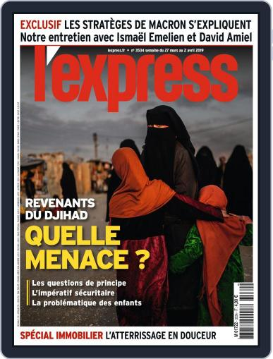 L'express (Digital) March 27th, 2019 Issue Cover
