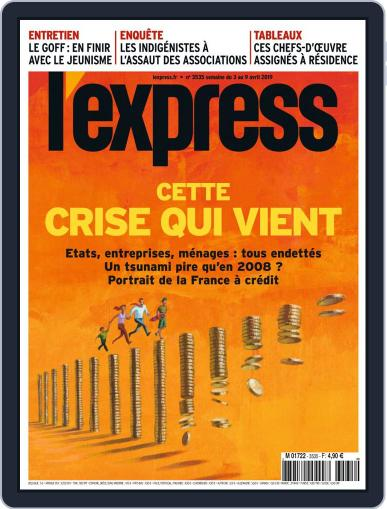 L'express April 3rd, 2019 Digital Back Issue Cover