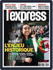L'express (Digital) Subscription April 17th, 2019 Issue