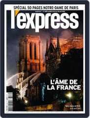 L'express (Digital) Subscription April 24th, 2019 Issue