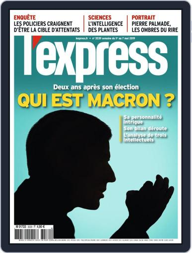 L'express May 1st, 2019 Digital Back Issue Cover