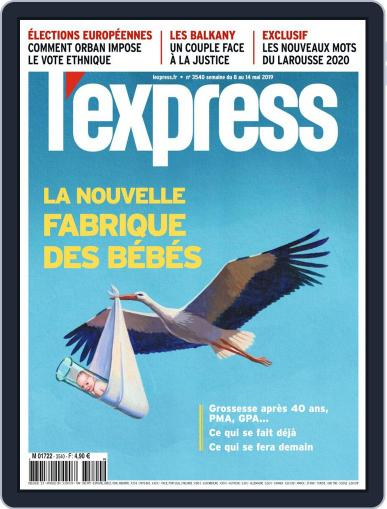 L'express (Digital) May 8th, 2019 Issue Cover