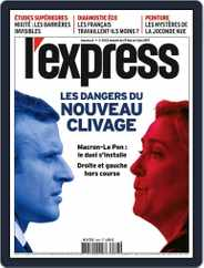 L'express (Digital) Subscription May 29th, 2019 Issue