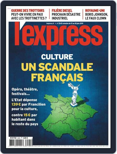 L'express June 12th, 2019 Digital Back Issue Cover