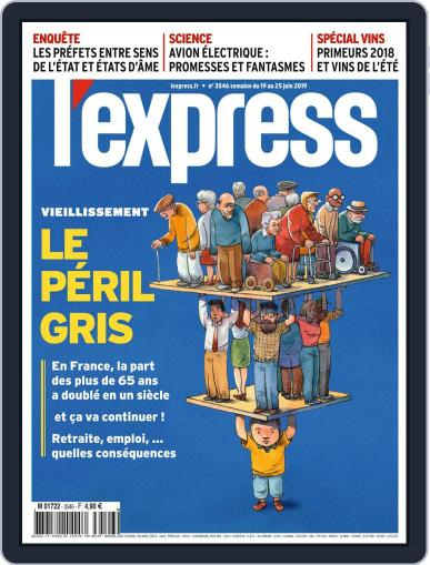 L'express (Digital) June 19th, 2019 Issue Cover