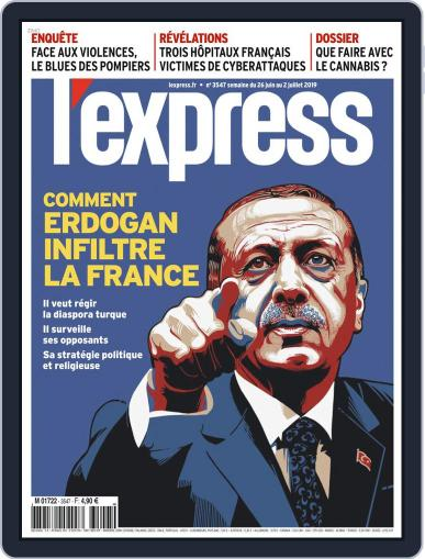 L'express June 26th, 2019 Digital Back Issue Cover