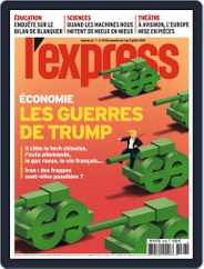 L'express (Digital) Subscription July 3rd, 2019 Issue