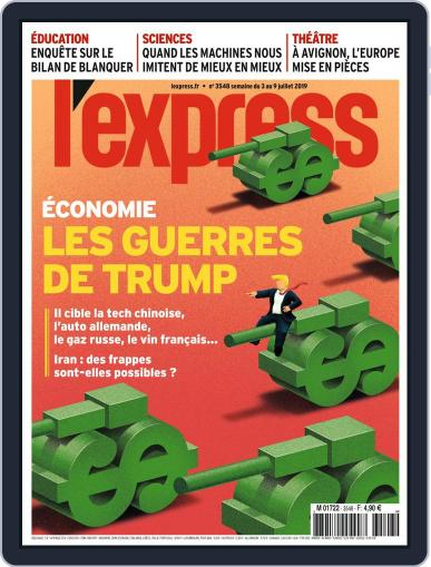 L'express (Digital) July 3rd, 2019 Issue Cover