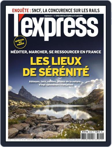 L'express July 31st, 2019 Digital Back Issue Cover