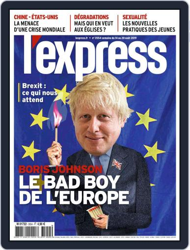 L'express (Digital) August 14th, 2019 Issue Cover