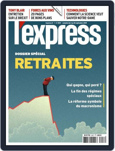 L'express (Digital) September 4th, 2019 Issue Cover