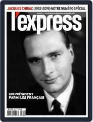 L'express (Digital) Subscription September 28th, 2019 Issue
