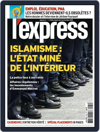 L'express October 9th, 2019 Digital Back Issue Cover