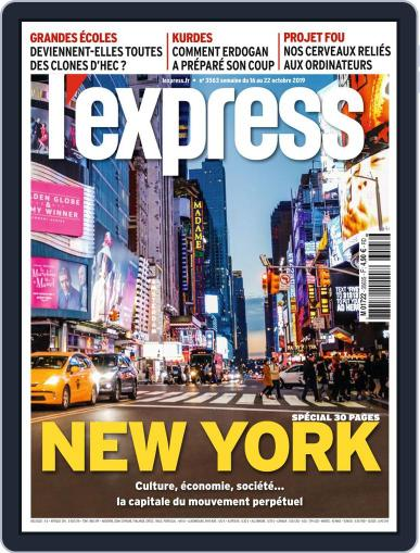 L'express (Digital) October 16th, 2019 Issue Cover