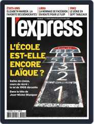 L'express (Digital) Subscription October 23rd, 2019 Issue