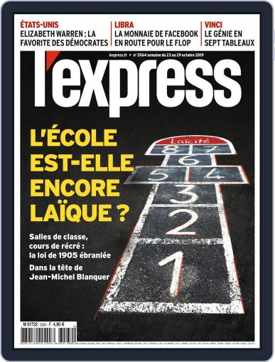 L'express (Digital) October 23rd, 2019 Issue Cover