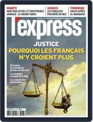 L'express (Digital) Subscription October 30th, 2019 Issue