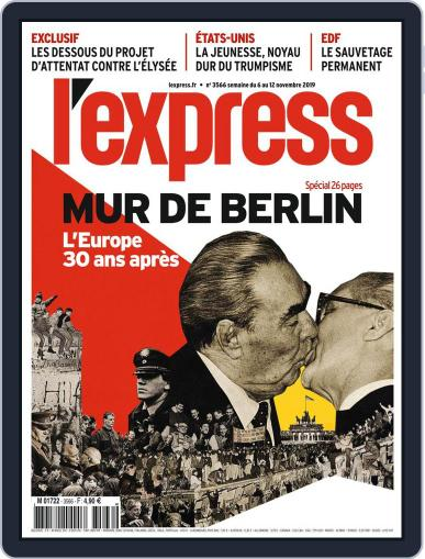 L'express November 6th, 2019 Digital Back Issue Cover
