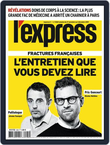 L'express (Digital) November 27th, 2019 Issue Cover