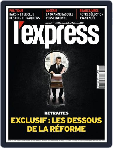 L'express (Digital) December 11th, 2019 Issue Cover