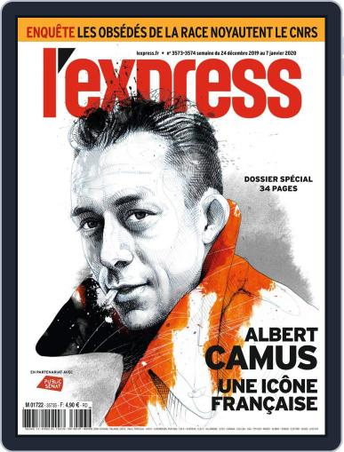 L'express (Digital) December 24th, 2019 Issue Cover