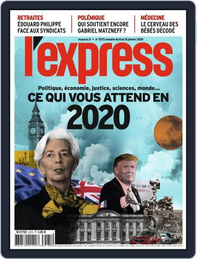 L'express January 8th, 2020 Digital Back Issue Cover