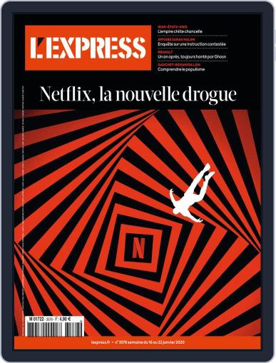 L'express January 16th, 2020 Digital Back Issue Cover