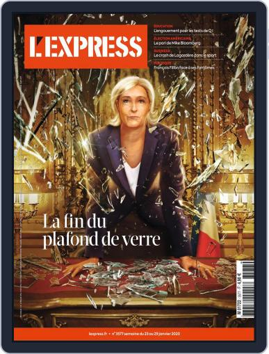 L'express (Digital) January 23rd, 2020 Issue Cover