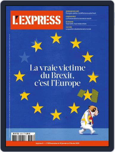 L'express (Digital) January 30th, 2020 Issue Cover