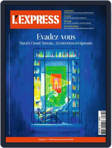 L'express (Digital) April 2nd, 2020 Issue Cover