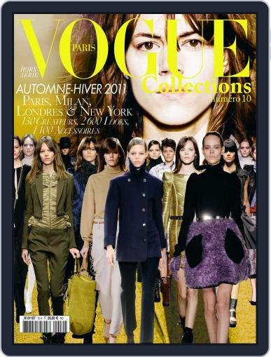 Vogue Collections May 4th, 2010 Digital Back Issue Cover