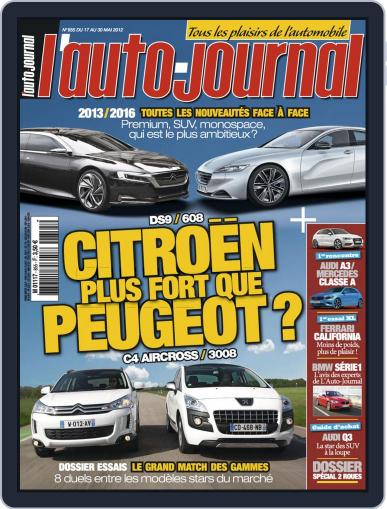 L'auto-journal (Digital) May 16th, 2012 Issue Cover
