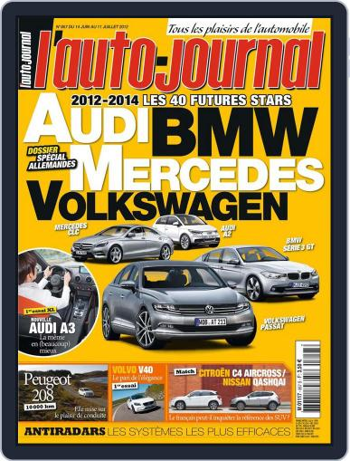 L'auto-journal (Digital) June 15th, 2012 Issue Cover