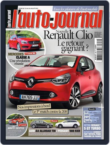 L'auto-journal (Digital) July 11th, 2012 Issue Cover