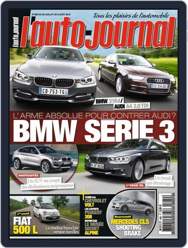 L'auto-journal (Digital) July 25th, 2012 Issue Cover