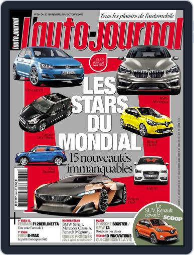 L'auto-journal September 20th, 2012 Digital Back Issue Cover