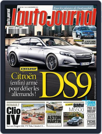 L'auto-journal November 5th, 2012 Digital Back Issue Cover