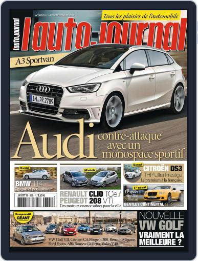L'auto-journal (Digital) November 20th, 2012 Issue Cover