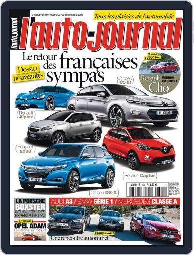 L'auto-journal (Digital) November 30th, 2012 Issue Cover