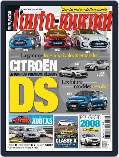L'auto-journal January 11th, 2013 Digital Back Issue Cover