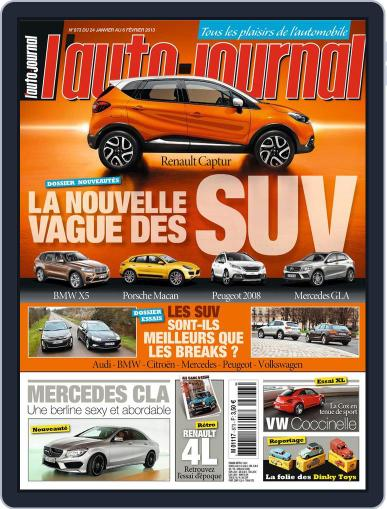 L'auto-journal January 30th, 2013 Digital Back Issue Cover